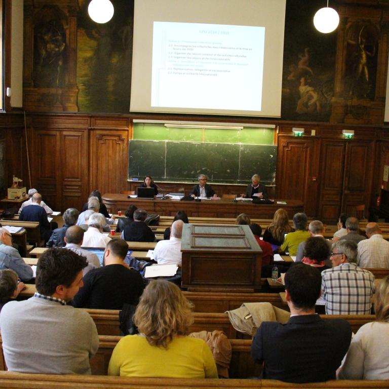 Assemblée générale - juin 2016 - Université de la Sorbonne Paris