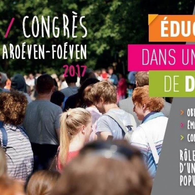 congrès2017 Eduquer dans un monde de droits - Poitiers